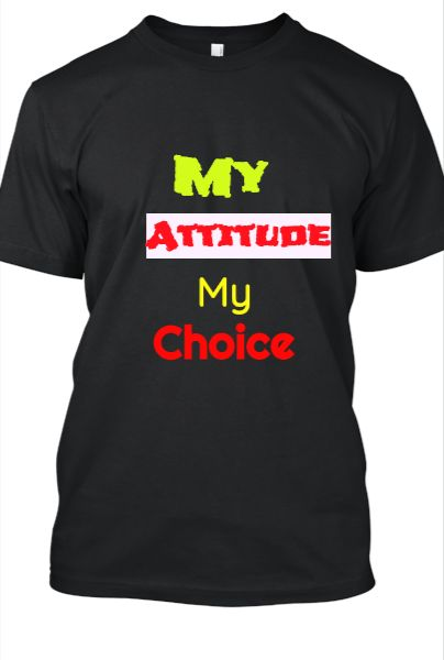 Attitude T-shirt - Front