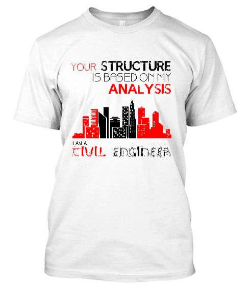 Civil Engineer T-Shirt - Front