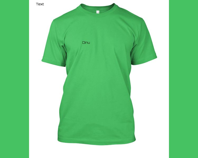 Dinu tshirt - Front