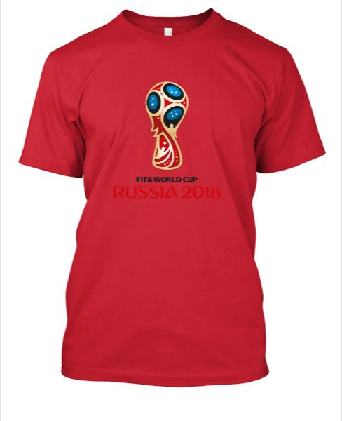 FIFA WORLD CUP RUSSIA 2018 TEE - Front