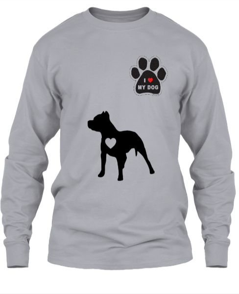 I Love My Dogs T Shirt - Front