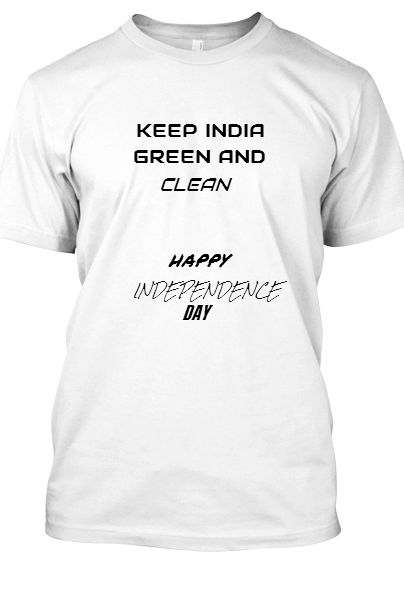 INDEPENDANCE DAY T-SHIRT - Front