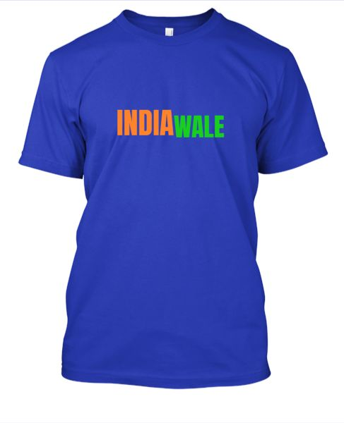 INDIA WALE T-SHIRT - Front