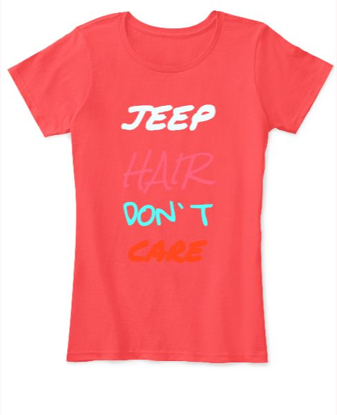JEEP HAIR DONT CARE - Front