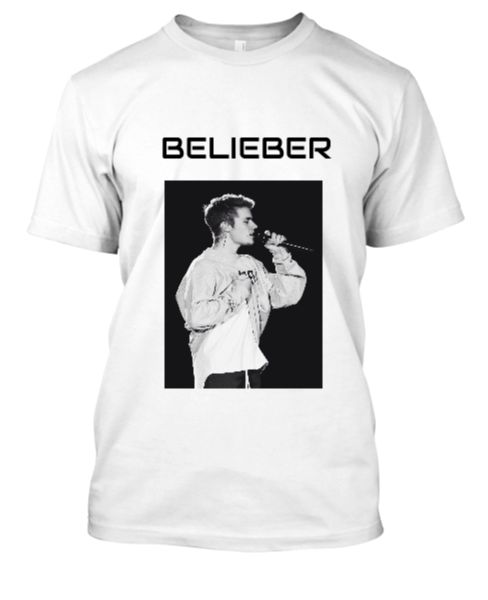 JUSTIN BIEBER PRINTED T- SHIRT - Front