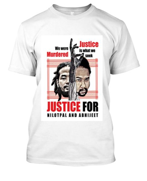 Justice for Nilotpal and Abhijeet - Front