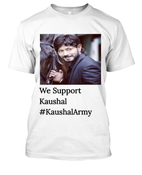 Kaushal Army T-shirts - Front