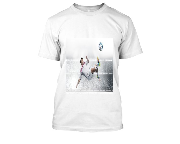 Lionel Messi t shirt (white) - Front