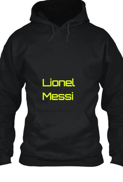 Lionel messi king - Front