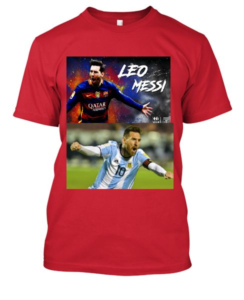 Messi T-Shirts  - Front