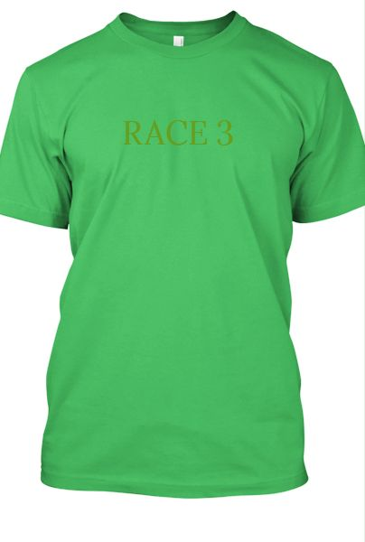 NEW T-SHIRT RACE 3 - Front