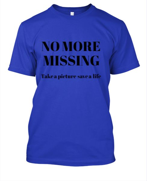 No More Missing Tee - Front