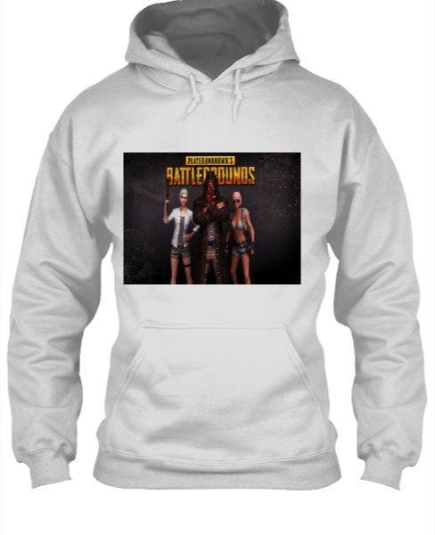 PUBG hoodie for men - Front