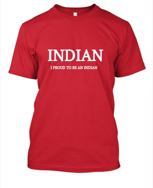 S.K. Indian t-shirt - Front
