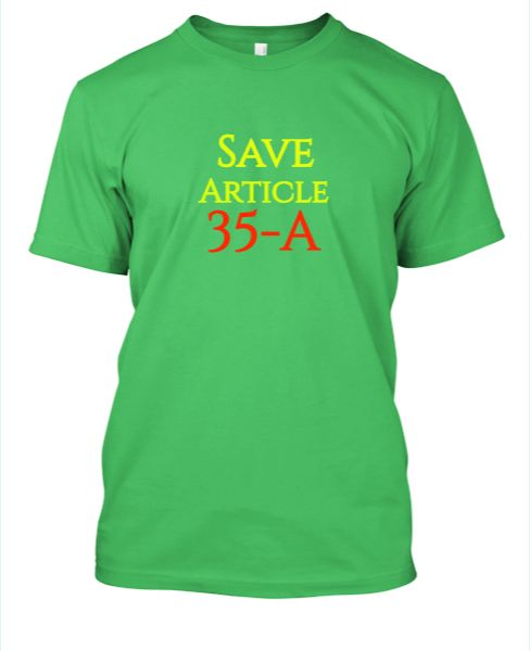 Save Article 35-A. T-Shirts by BAD & DAD - Front