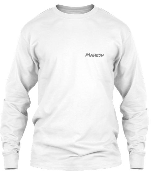 T Shirt With Name Mahesh - Front