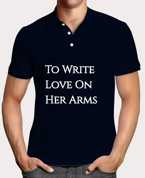 T shirt-To Write Love On Her Arms