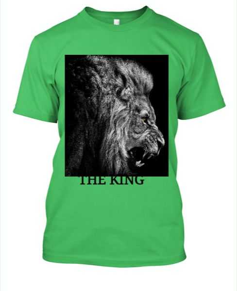 THE KING T-SHIRT - Front