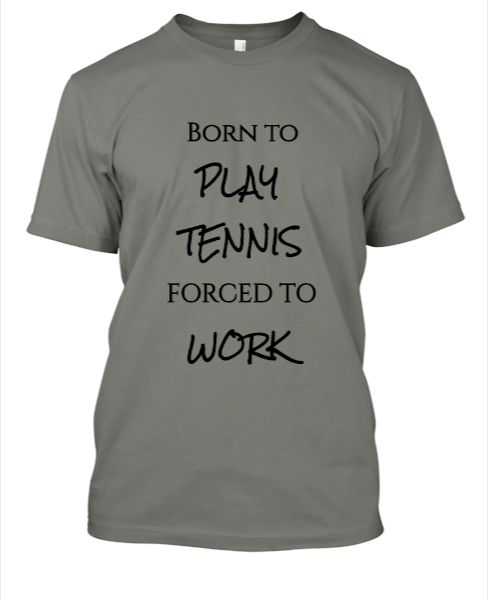 Tennis t-shirts - Front