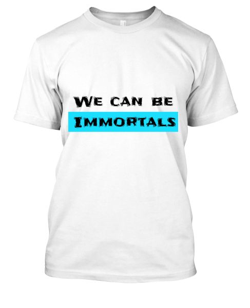 We can be Immortals - Front