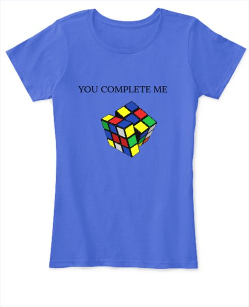 YOU COMPLETE ME TEE - Front
