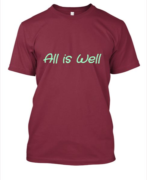 All is Well - Front