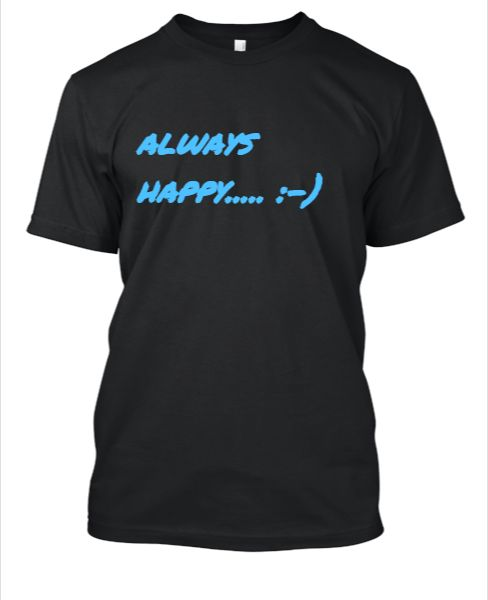 always happy - Front