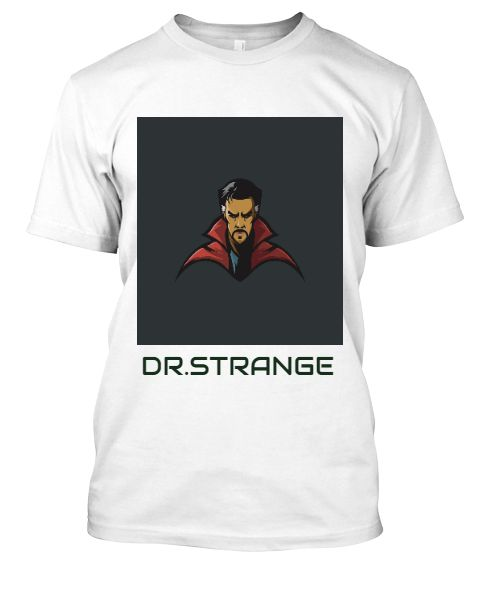animated Dr-strange (t-shirt) - Front